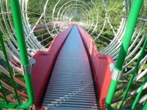 笹ヶ丘公園のすべり台ビッグスライダー2