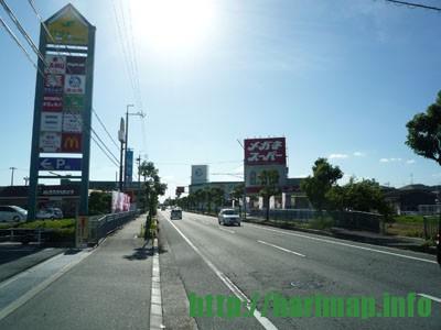 新小川橋方面