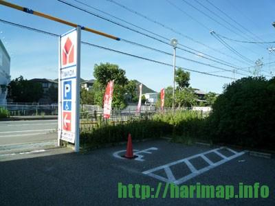 ヤマダ電気駐車場