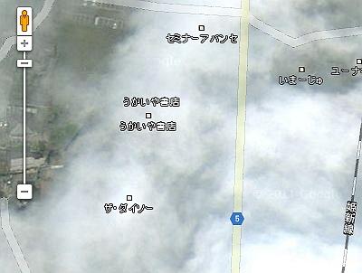 コメリグーグルマップ空撮