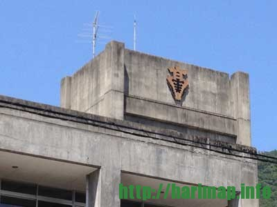 兵庫県立龍野実業高等学校が閉校している校章
