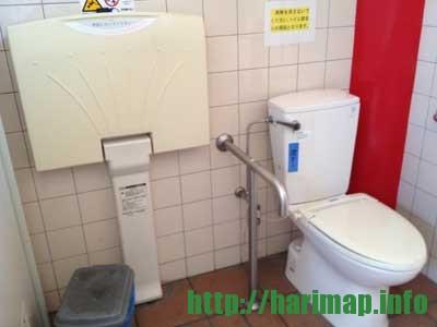 道の駅白龍城の多目的トイレ【相生市那波南本町】